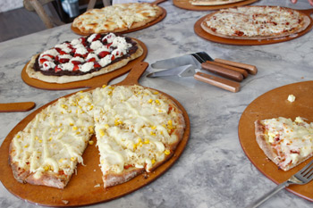Gallery- multiple pizzas