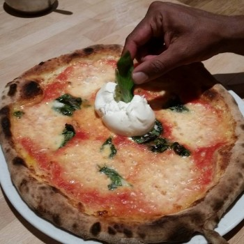 Gallery-Burrata Pizza